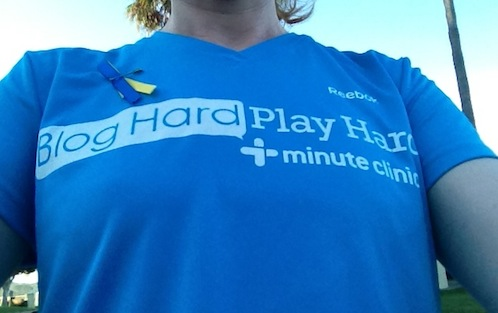 Blog hard, play hard #mcfunrun