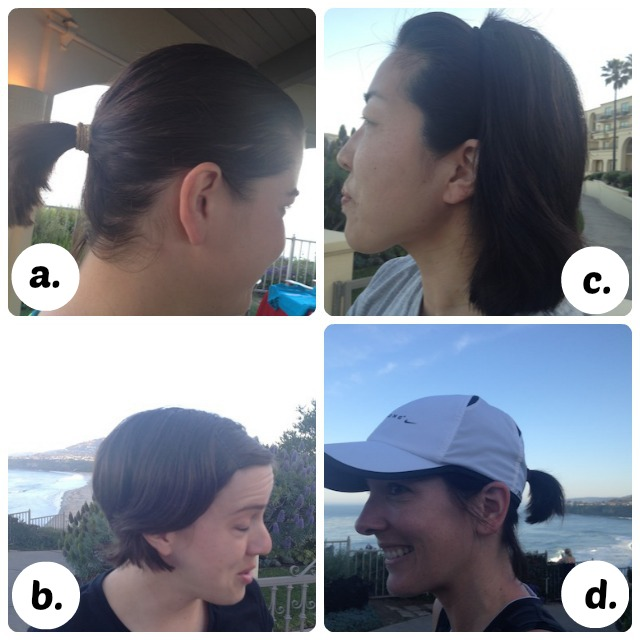 Running hair collage, what's your style?